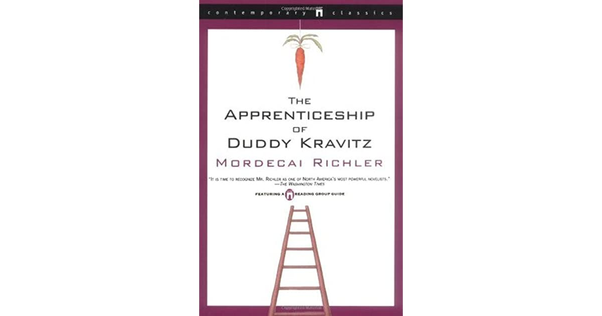 the apprenticeship of duddy kravitz essay questions Duddy kravitz this essay duddy kravitz and other along with virgil and yvette, then continues with the question the apprenticeship of duddy kravitz duddy.