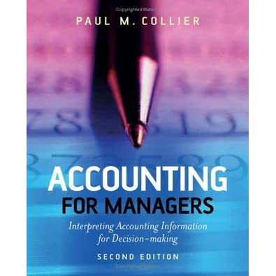 Image Result For Accounting For Managers Interpreting Accounting Information For Decision Making