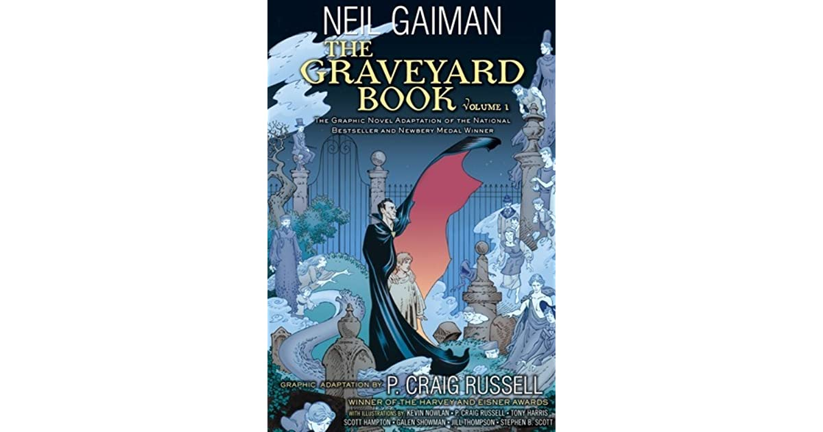 The Graveyard Book Cover Art ~ The graveyard book volume by p craig russell — reviews