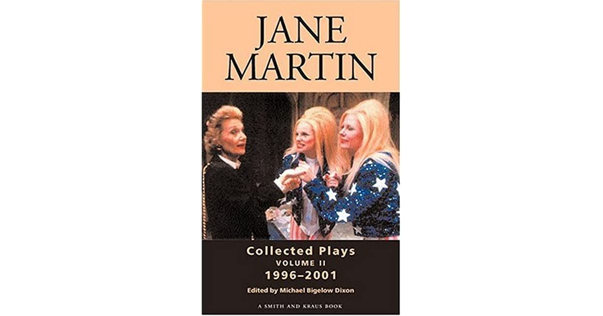 """beauty drama play by jane martin An argument supporting an interpretation on the modern drama """"beauty"""" by jane martin by focusing on an analysis of the play custom paper."""