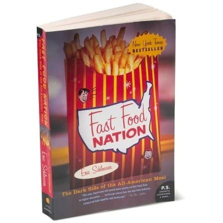 book report fast food nation Eric schlosser's book fast food nation the dark side of the all american meal, illustrates the evolution and dangers posed by fast foods in the american society.