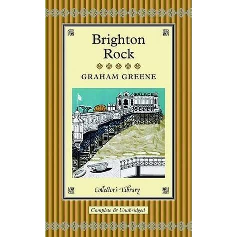 brighton rock book review Brighton rock user review - not available - book verdict to honor greene's centennial, penguin is reissuing these six titles in deluxe editions featuring new cover.