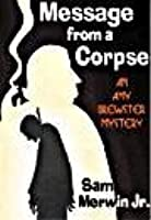 Message from a Corpse [An Amy Brewster Mystery]