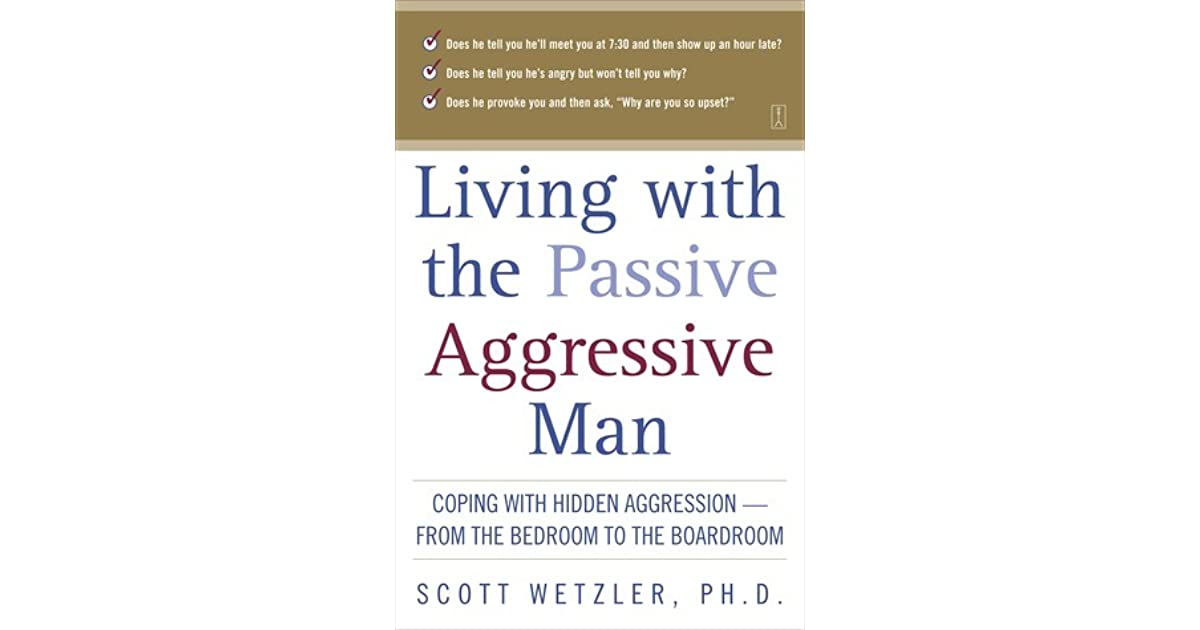 Coping With A Passive Aggressive Wife