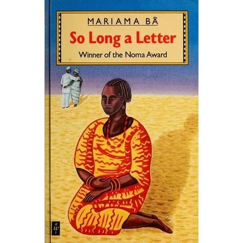 so long a letter mariama ba