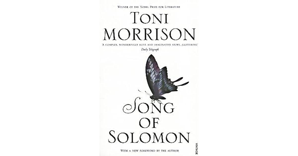 the meaningfulness of spirituality in toni morrisons song of solomon Inclusive spirituality in song of solomon  in toni morrison's song of solomon, african-americans struggle to find a spirituality that is responsive to their .