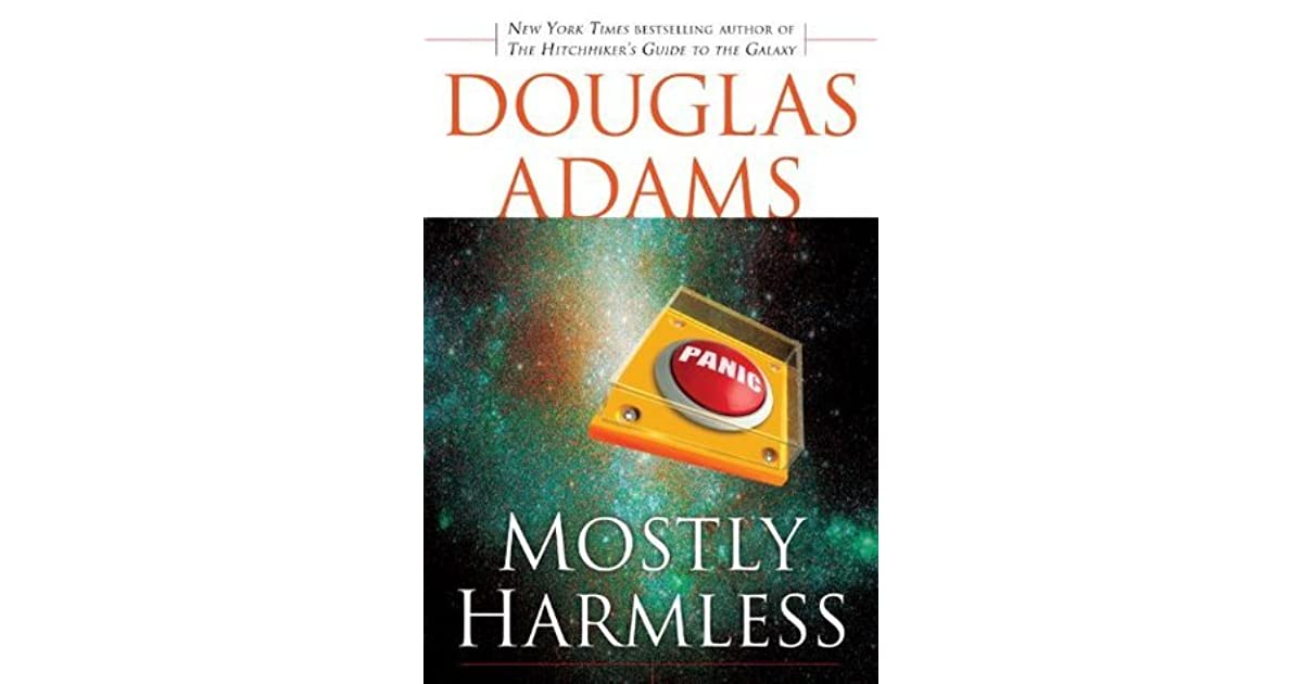 hitchhikers guide to the galaxy mostly harmless ending relationship