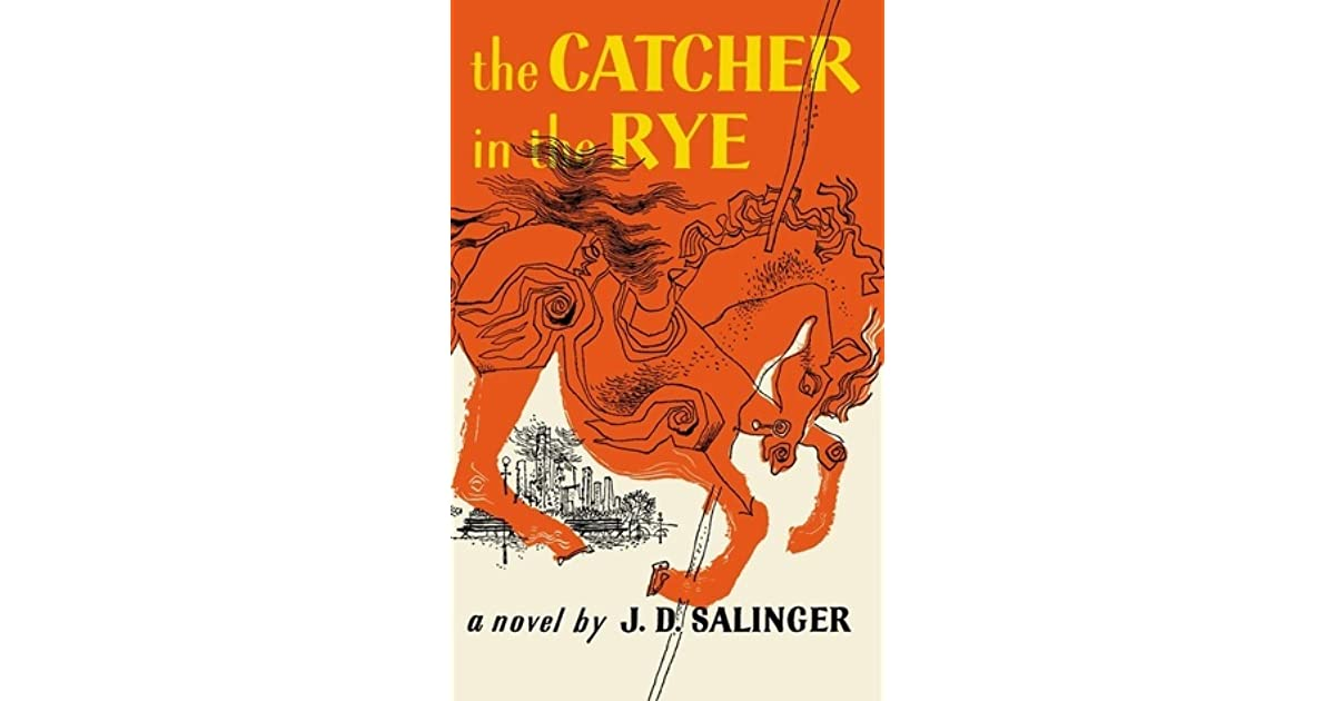 are catcher in the rye and Phoebe informs him that the song he heard about the catcher in the rye is actually a poem by robert burns, and it's about bodies meeting bodies, not catching bodies next.