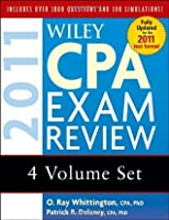 Wiley CPA Exam Review 2011, 4-volume Set (Wiley CPA Examination Review (4v.))