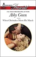 When Christakos Meets His Match (Blood Brothers, #2) [Kindle Edition]