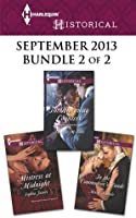 Harlequin Historical September 2013 - Bundle 2 of 2: Mistress at Midnight\The Runaway Countess\In the Commodore's Hands