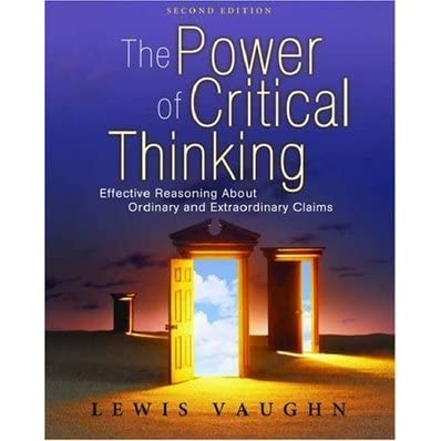 Power of critical thinking vaughn 3rd edition answers - Resume, CV & Thesis From Best Writers