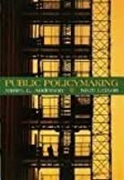 Public Policymaking: An Introduction 6th (sixth) edition
