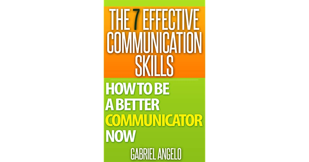 how i can become an effective communicator Students with effective communication skills will be more likely to contribute to  class  the more comfortable they will become within the classroom environment, .