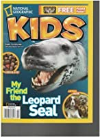 National Geographic Kids Magazine (My friend the leopard seal, February 2011)