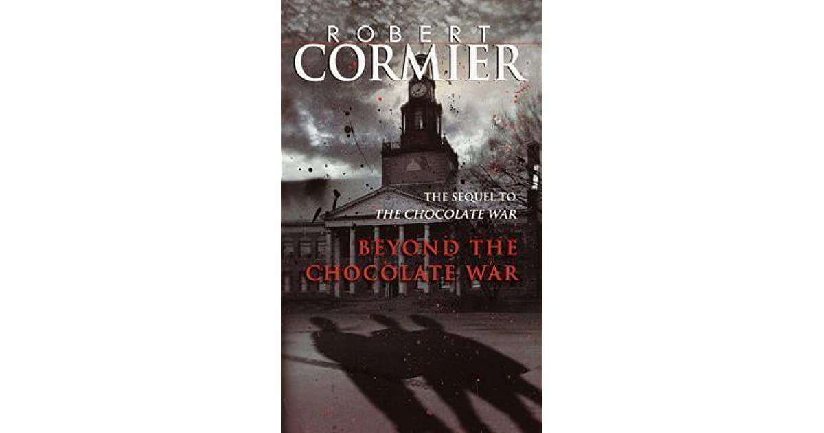 the chocolate war book report Beyond the chocolate war book summary and study guide  in this 1985  sequel to the chocolate war, it is early spring and jerry renault has returned to  the.