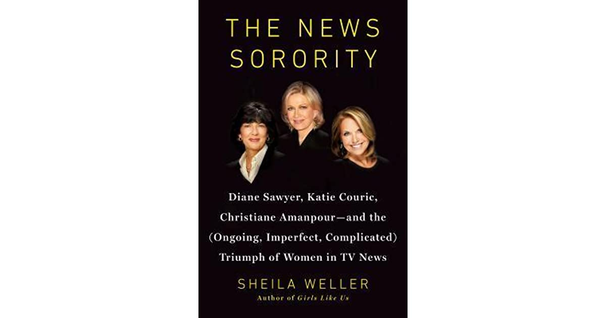 The News Sorority Diane Sawyer Katie Couric Christiane border=