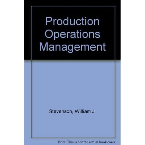 notes on production and operation management