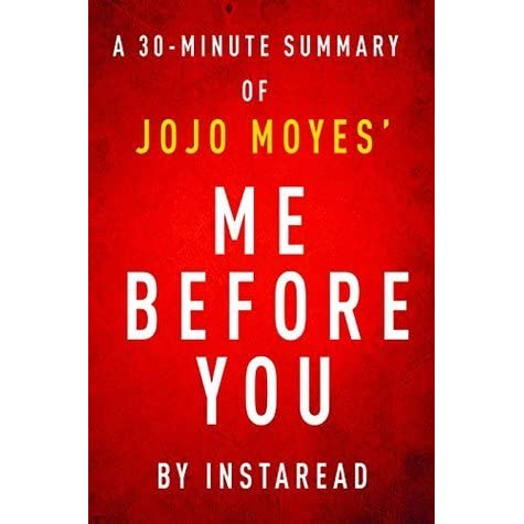 Me before you jojo moyes summary