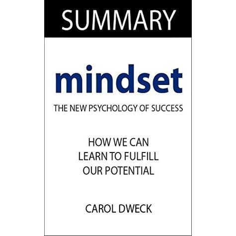 mindset the new psychology of success by carol dweck pdf