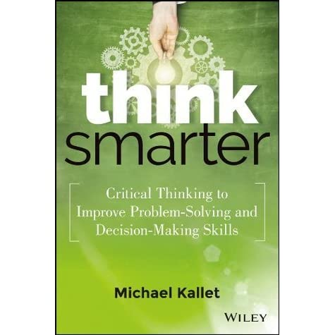 problem solving decision making critical thinking