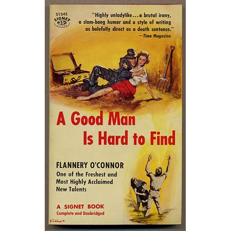 Good man is hard to find essay