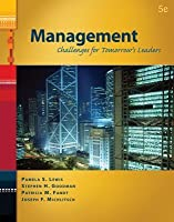 Management: Challenges for Tomorrow's Leaders (Book Only)
