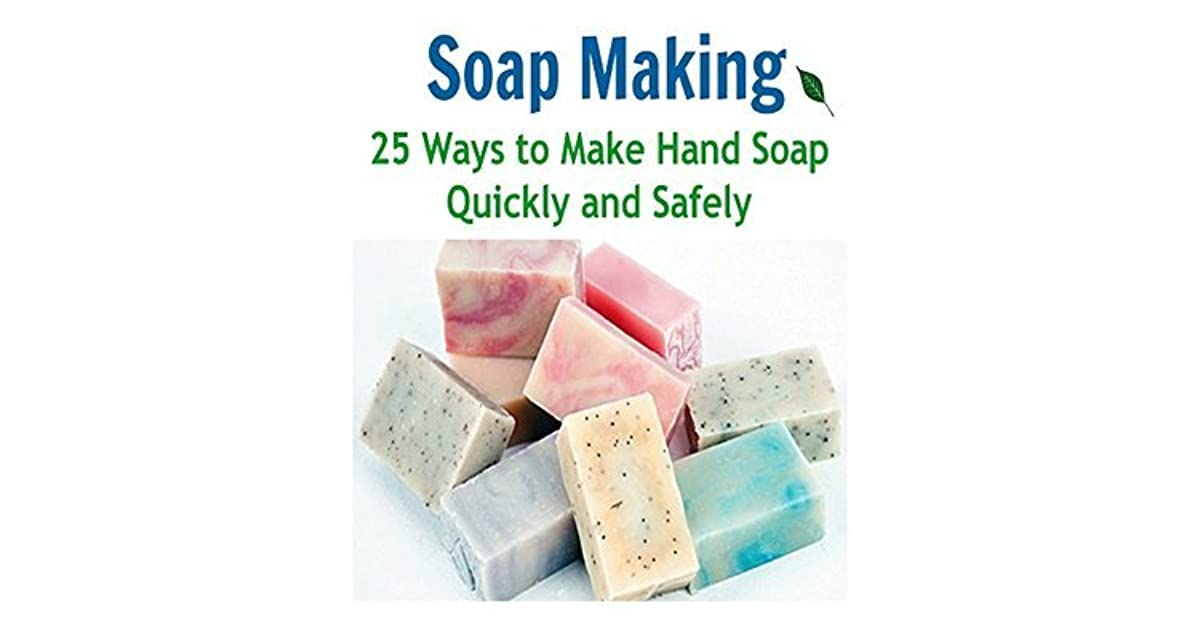 How To Make A Book Quickly : Soap making ways to make hand quickly and safely