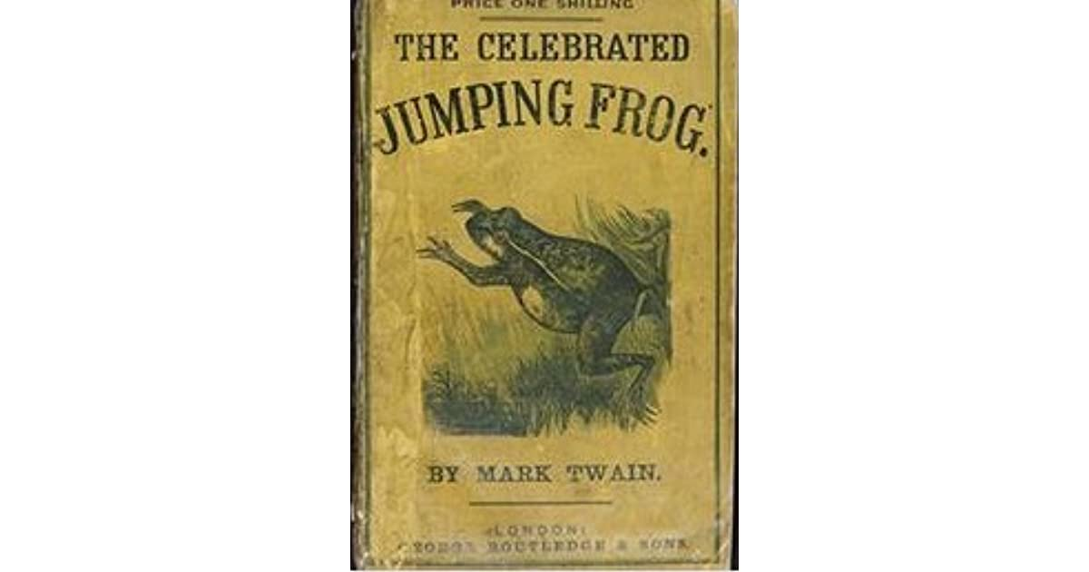 an analysis of the notorious jumping frog of calaveras county The celebrated jumping frog of calaveras county was first published in the november 18, 1865, edition of the new york saturday press, under the title jim smiley and his jumping frog the story, which has also been published as the notorious jumping frog of calaveras county, is set in a gold-mining camp in.