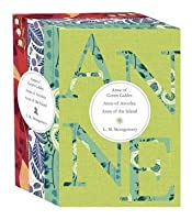 Anne 3 Copy Hardcover Boxed Set: Anne of Green Gables / Anne of Avonlea / Anne of the Island