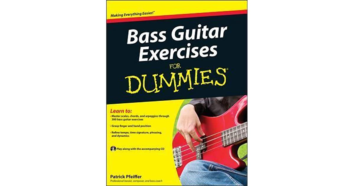 bass guitar exercises for dummies with cd audio by patrick pfeiffer reviews discussion. Black Bedroom Furniture Sets. Home Design Ideas