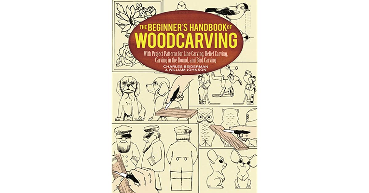 The beginner s handbook of woodcarving with project