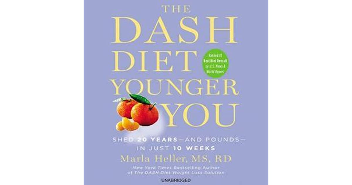 Y's review of The DASH Diet Younger You: Shed 20 Years ...