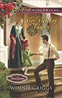 Her Holiday Family (Texas Grooms, #5)