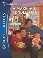 A Marriage-Minded Man (Wed in the West #3)