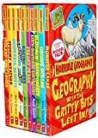 Horrible Geography Collection 10 Books Box Gift Set Pack