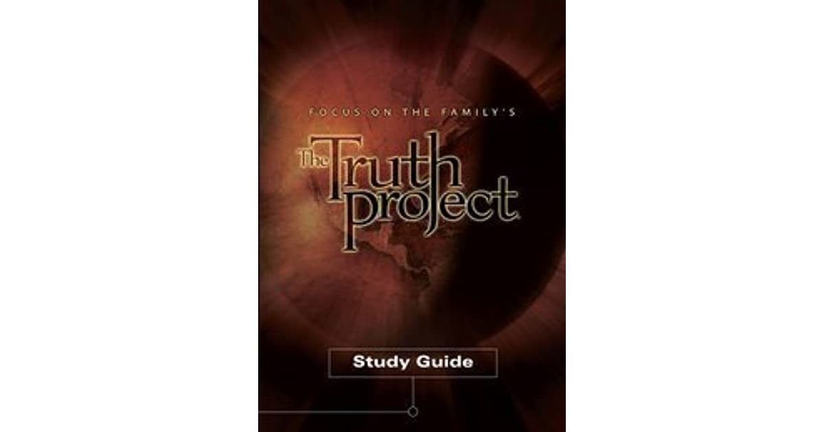 the truth project study guide Product features one the truth project full-color study guide, including journaling space.