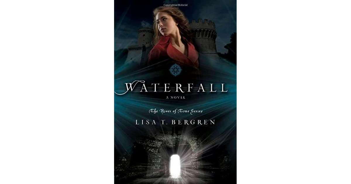 Book Cover Design Rates ~ Waterfall river of time by lisa tawn bergren