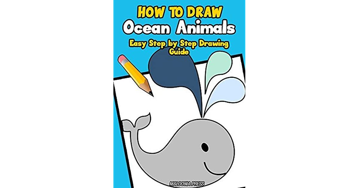 How to draw easy sea animals