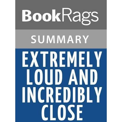 extremely loud and incredibly close book pdf