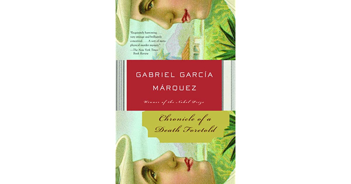 the role of religion in chronicle of death foretold by gabriel garcia Gender in chronicles of a death foretold gabriel garcia marquez in chronicle of a death foretold, gabriel garcia marquez utilizes the characterization of.