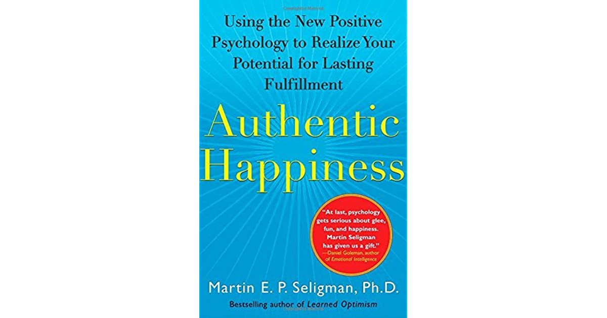 seligman authentic happiness book pdf