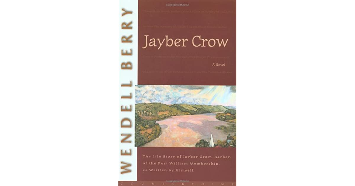 Jayber crow study guide