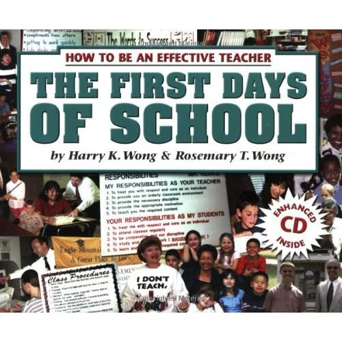 the first days of school book review