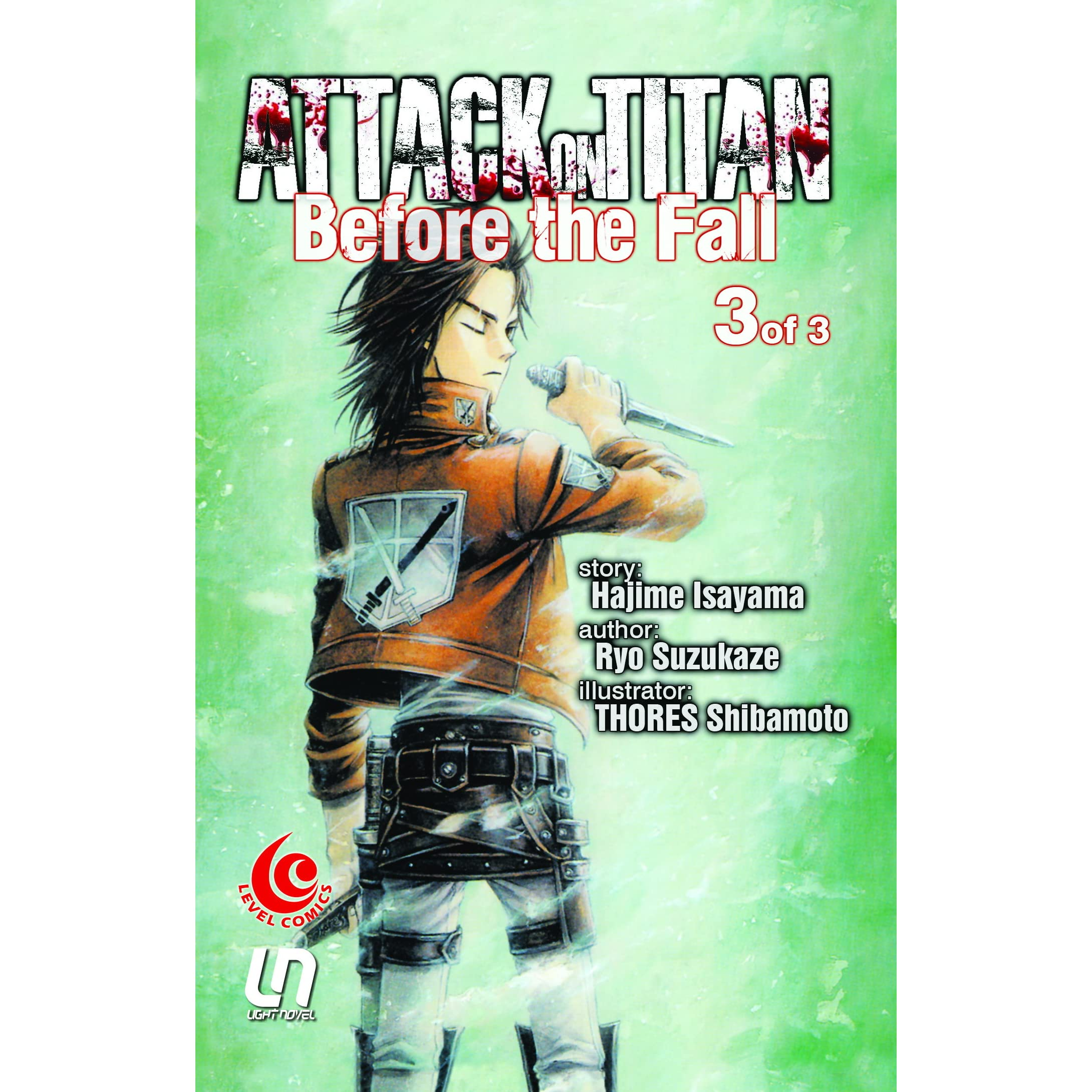 Attack On Titan Before The Fall Vol. 3 By Hajime Isayama