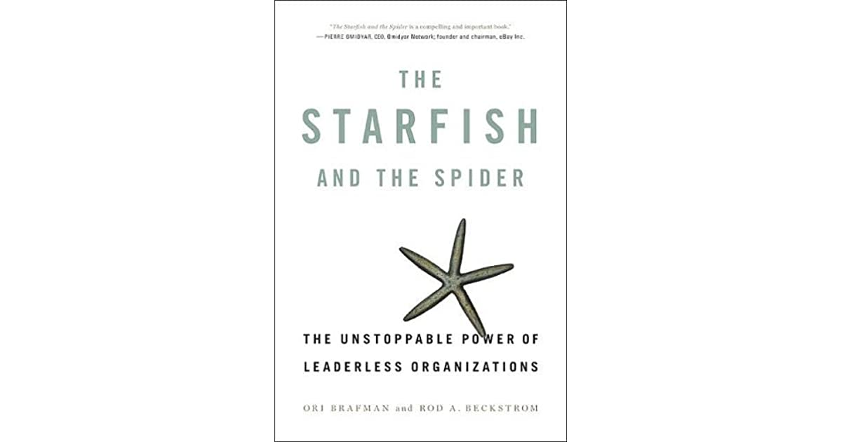 """starfish and spider essay Matt alspaugh reading – from """"the starfish and the spider"""" – ori brafman and rod a beckstrom by 1521, just two years after cortes first laid eyes on [the aztec capital city of] tenchtitlán, the entire aztec empire had collapsed."""