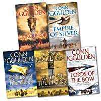 Conqueror Series 5 Books Collection Pack RRP: £50.95 (Conqueror, Bones of the Hills, Wolf of the Plains, Lords of the Bow...)(Conn Iggulden)