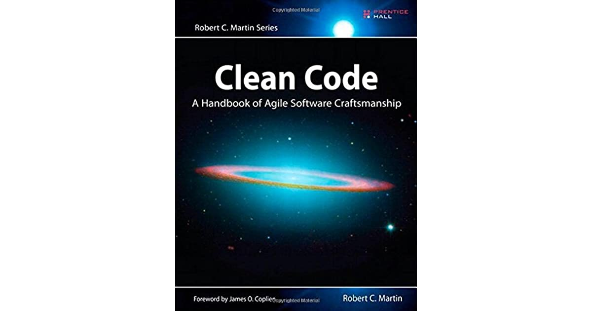 Clean Code: A Handbook of Agile Software Craftsmanship by