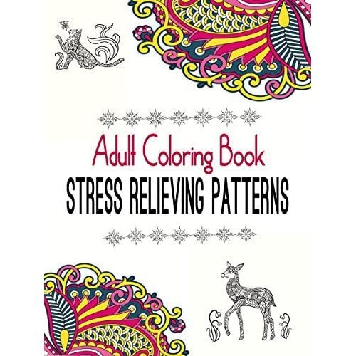 Adult Coloring Book Stress Relieving Patterns Natural