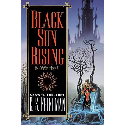 Photo Fantasy Book Cover Tutorial : Black sun rising the coldfire trilogy by c s